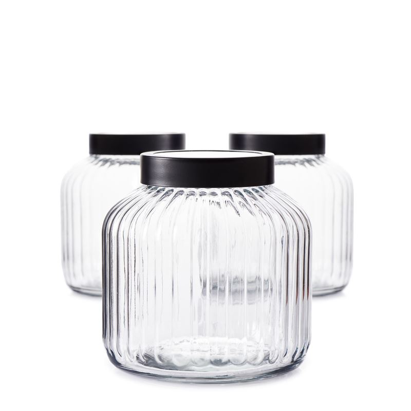 Brew Canister Set Glass 3L S/3
