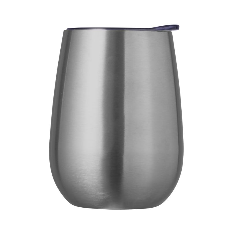 Double Wall Insulated Wine Tumbler 300ml Stainless Steel