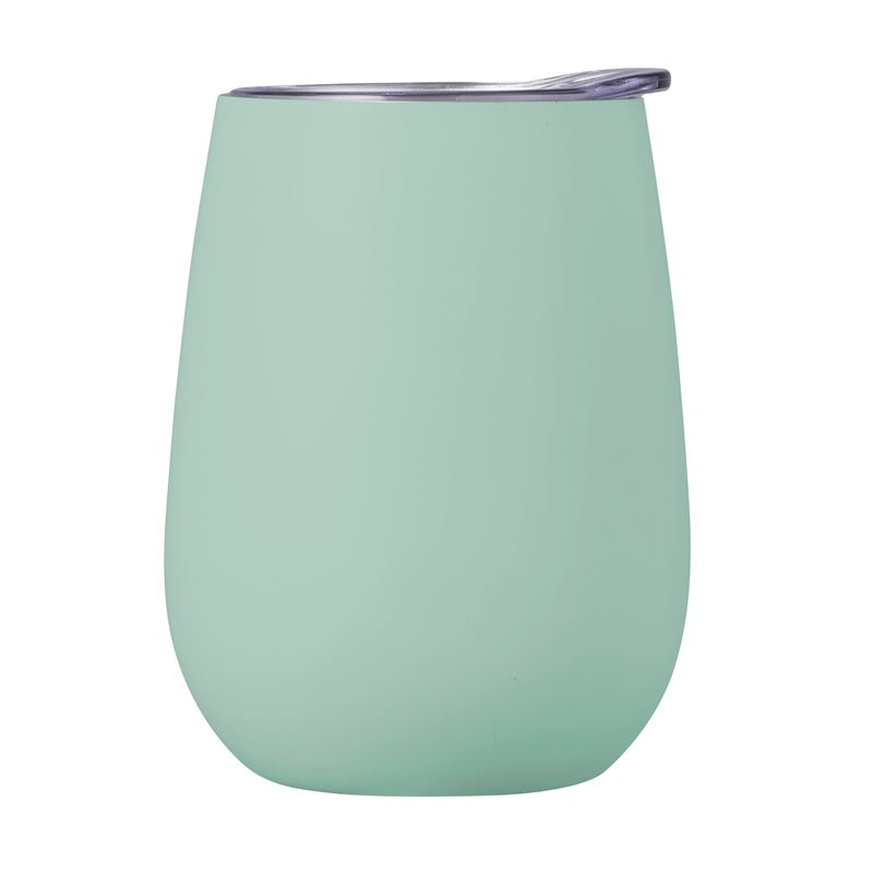 Double Wall Insulated Wine Tumbler 300ml Duck Egg Blue