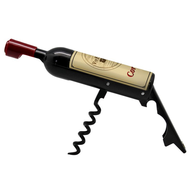 Bottle Shape Waiter's Foldable Corkscrew