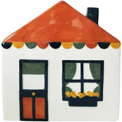 Retro House Planter Small 18x19cm