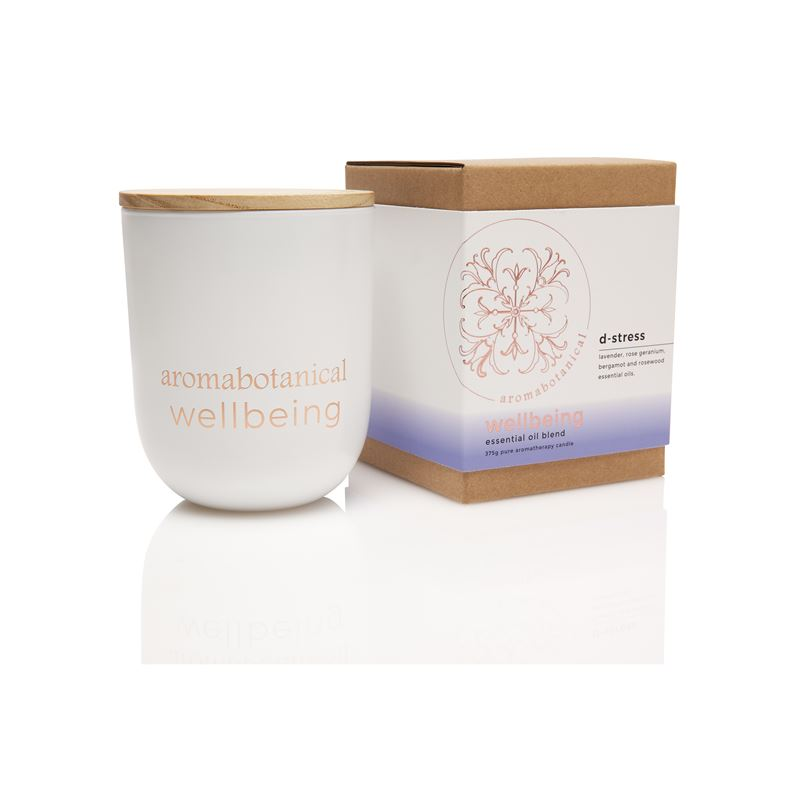 Aromatherapy Wellbeing 390gm Candle 390gm D-Stress