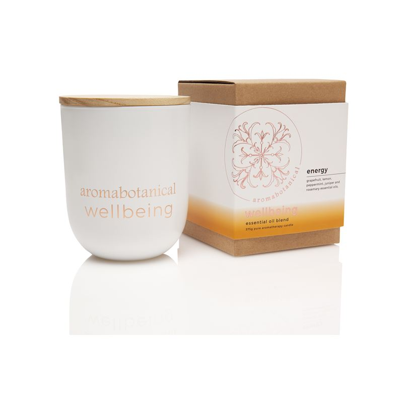 Aromatherapy Wellbeing 390gm Candle 390gm Energy