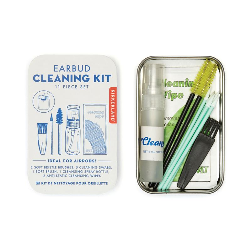 Kikkerland Earbud Cleaning Kit (12Disp)