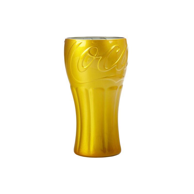 Superscript Coca Cola Glass 350ML Gold