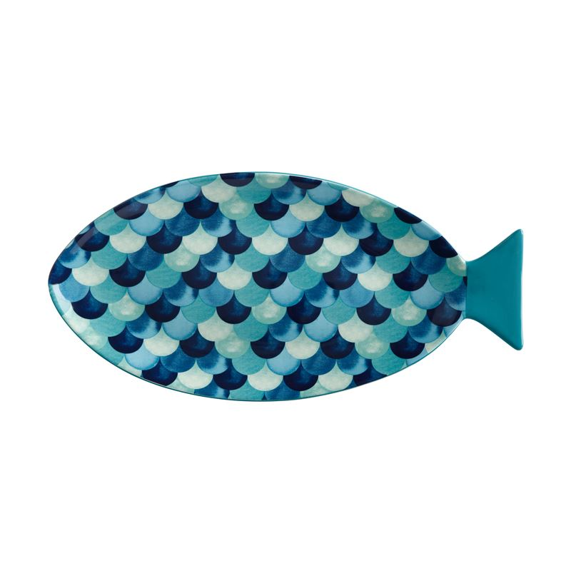 Reef Fish Shaped Platter 40cm Gift Boxed