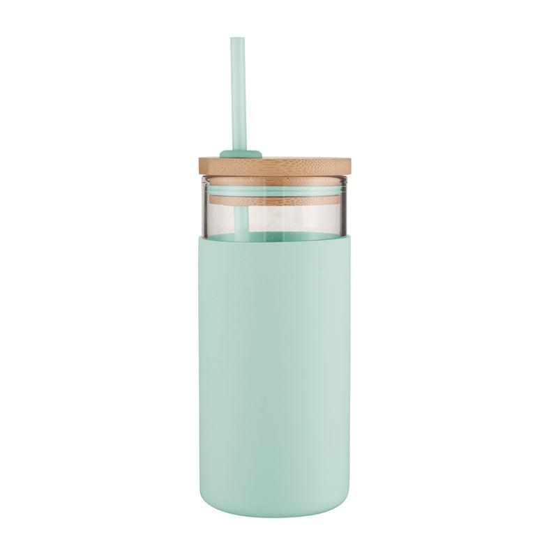 Glass Smoothie Tumbler, 580Ml – Mint