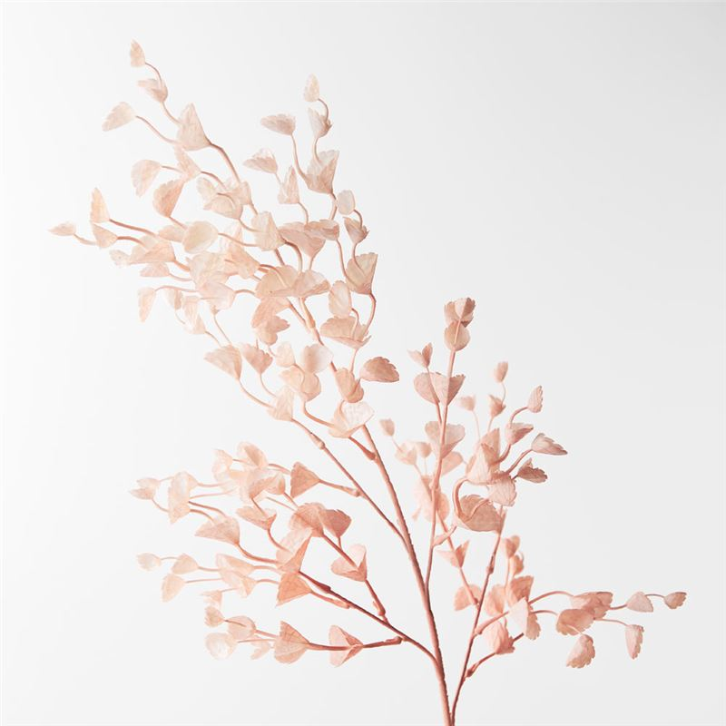 Scallop Leaf Spray Light Pink 78cml