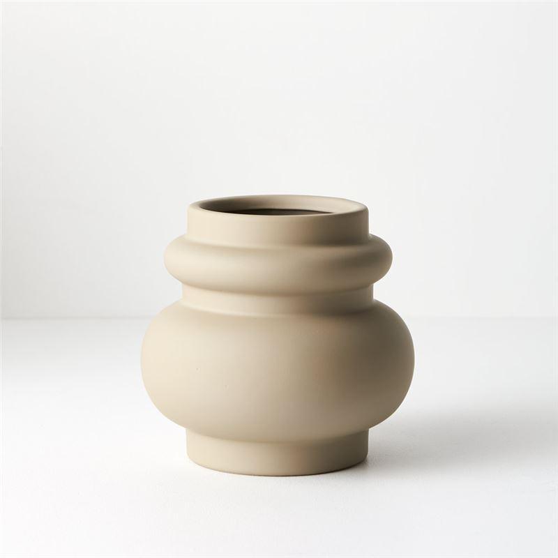 Pot Lucena Sand 15cmh x 16cmd