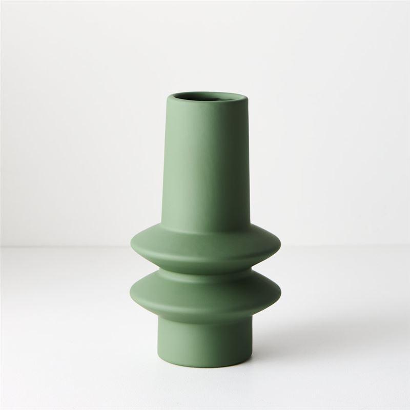 Vase Lucena Mint Green 21.8cmh x 12.5cmd