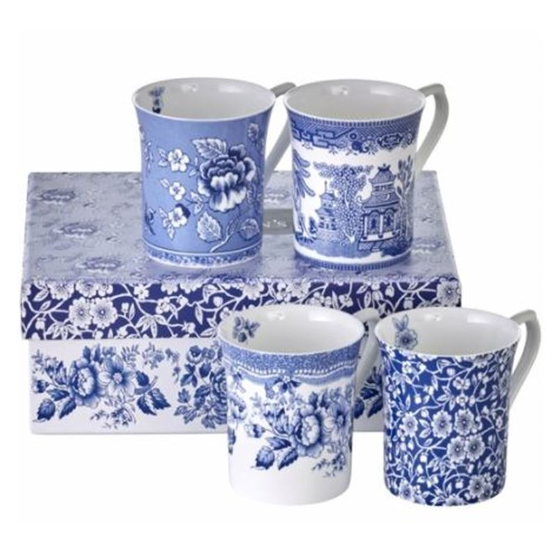 Set of 4 Blue Story Royal 7oz Mug