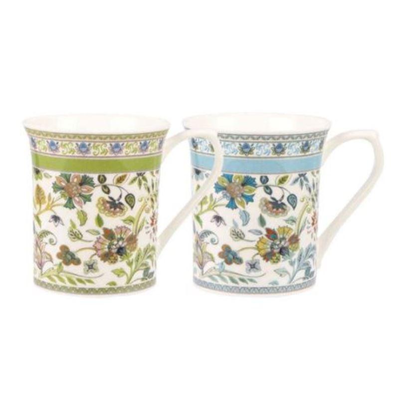 Antique Floral Single 7oz Mug