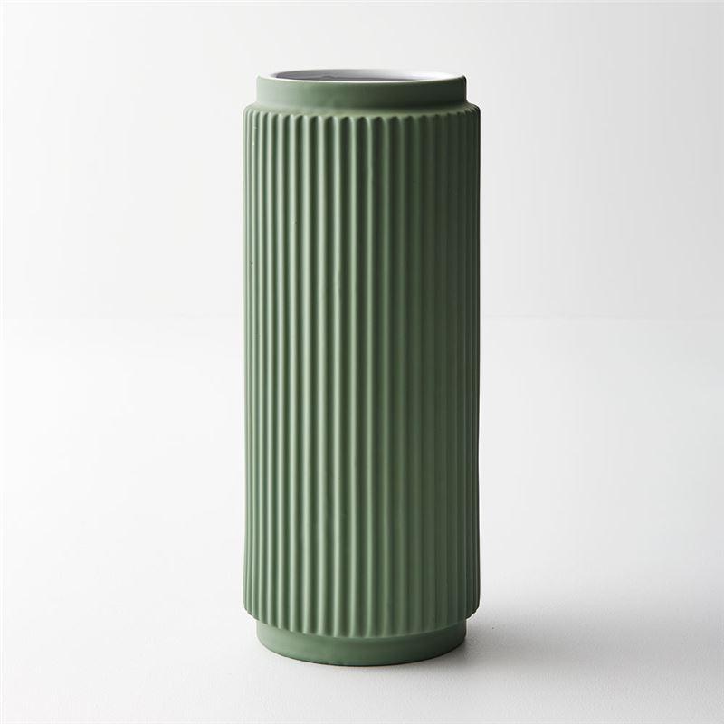 Vase Culotta Mint Green 30cmh x 12.5cmd