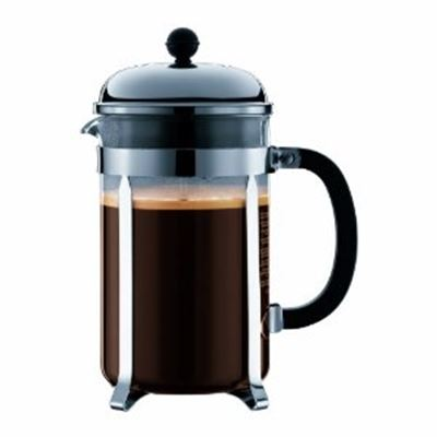 Chambord French Press 12 Cup, 1.5 L, 51 Oz Stainless