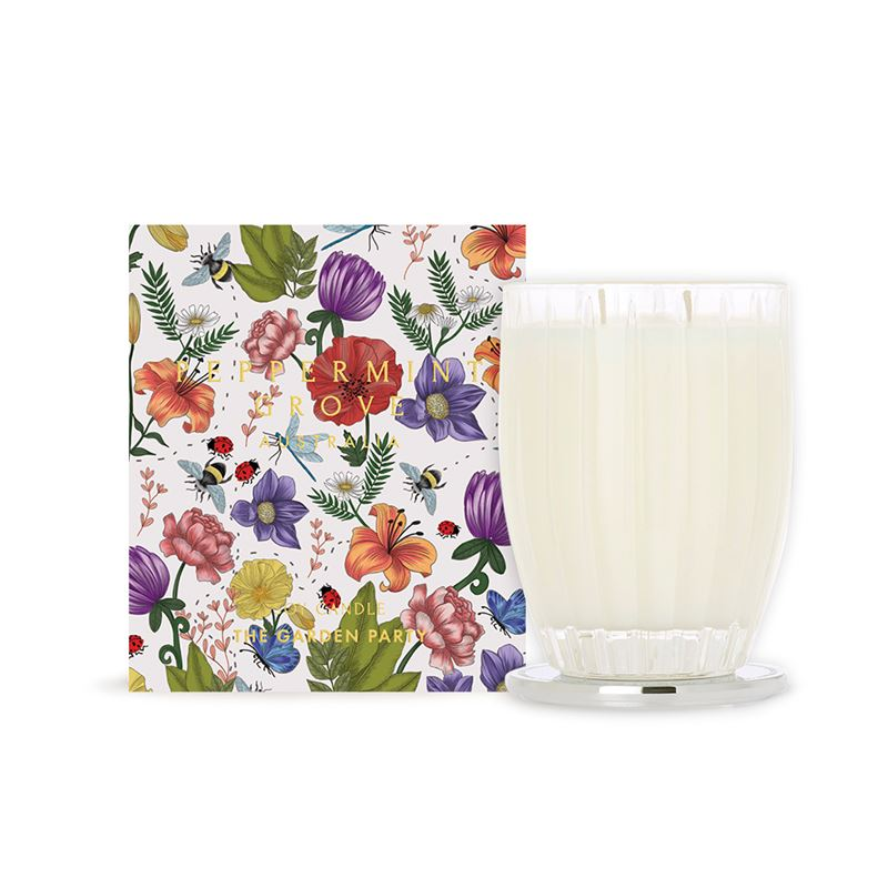 The Garden Party – Large Candle 350g