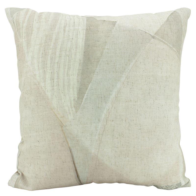 Fluid Reality Linen & Velvet Cushion 50×50