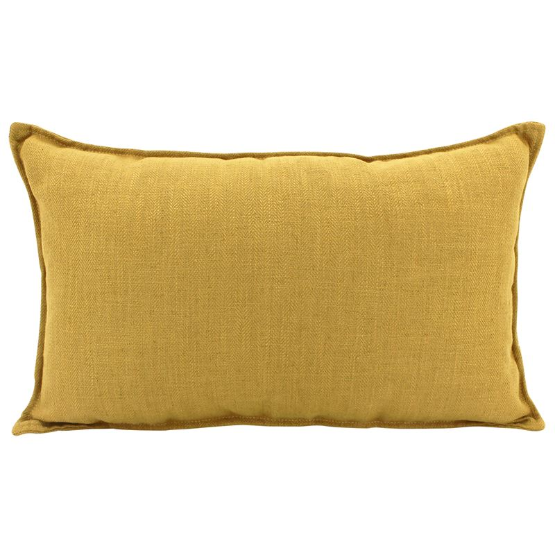 Linen Mustard Cushion 30×50