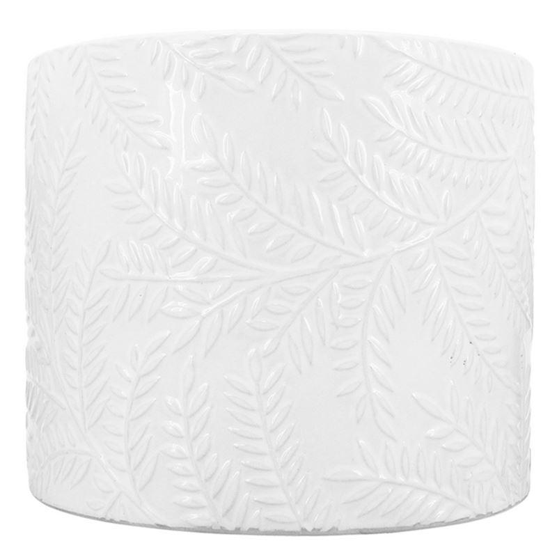 Paprat Planter White 16.5×14