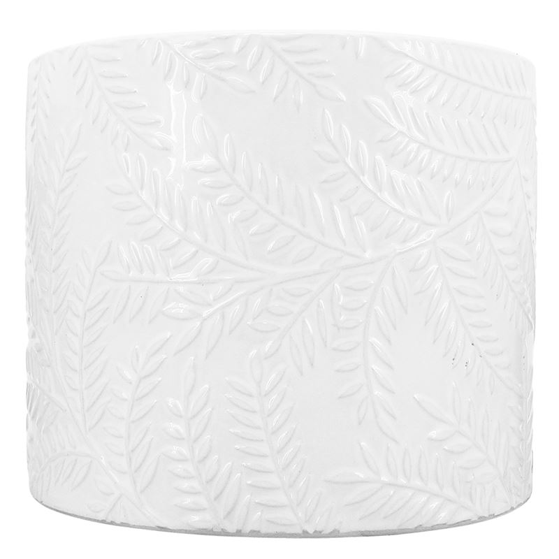 Paprat Planter White 11.5×9.5