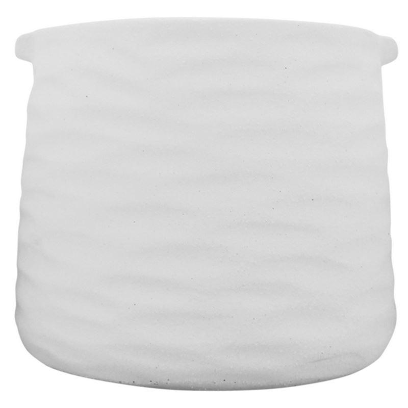 Kima Pot White 18×15
