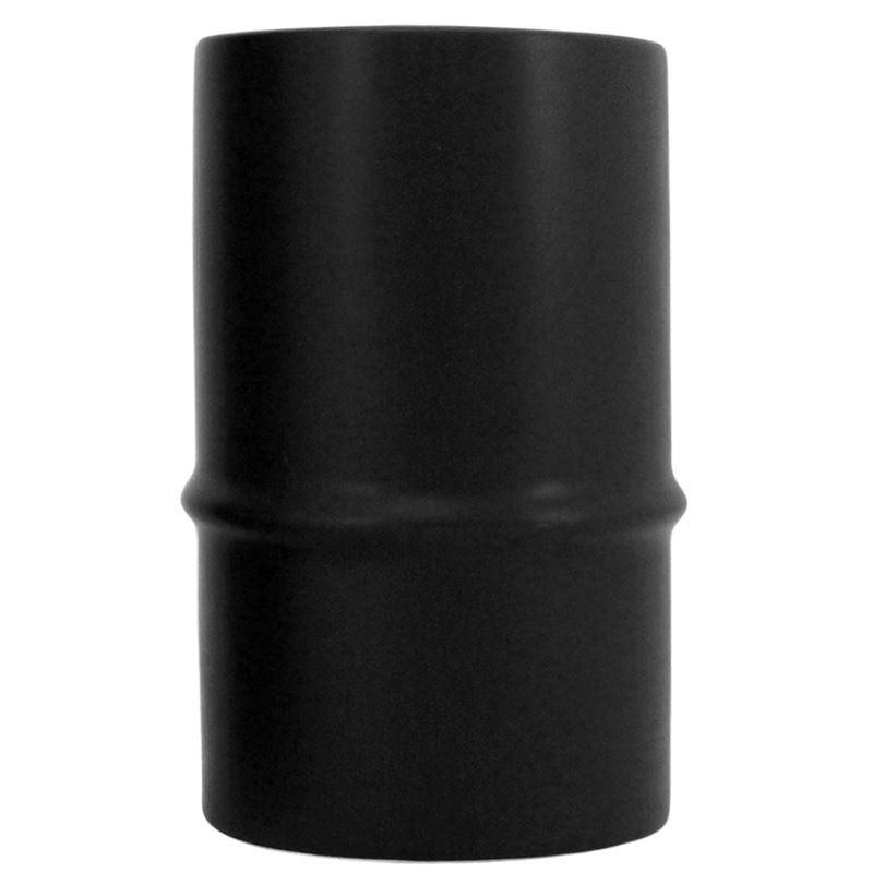 Ceramic Bamboo Vase Black 8×13