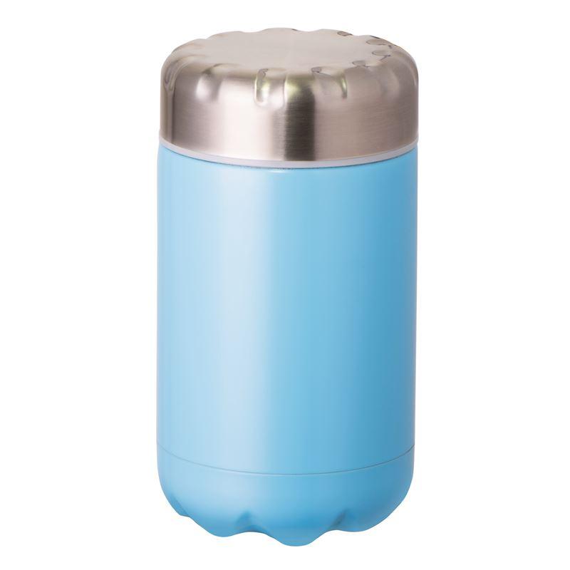 Fluid Vacuum Food Flask Blue 500ml