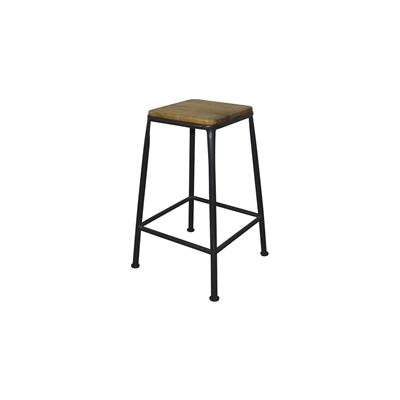 Tube Breakfast Stool Rusty