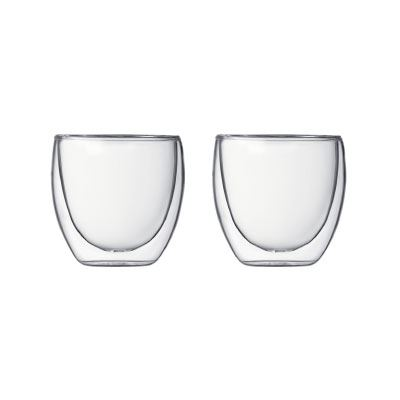 Pavina 2 Piece Double Wall Glass Set Small
