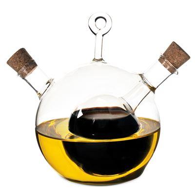 Oil And Vinegar Bottle - Ball Clear