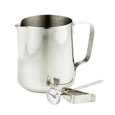 Milk Frothing Jug & Thermometer