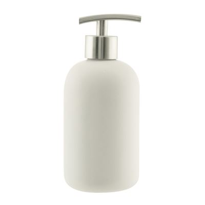 Suds Ceramic Soap Dispenser 425ml White