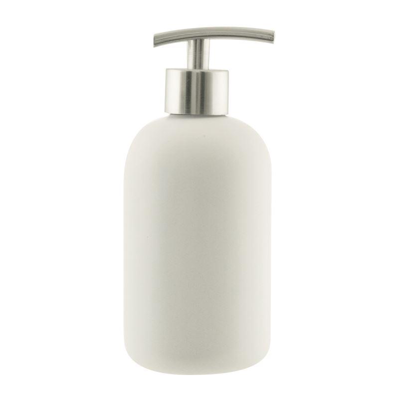 Suds Ceramic Soap Dispenser 425ml White