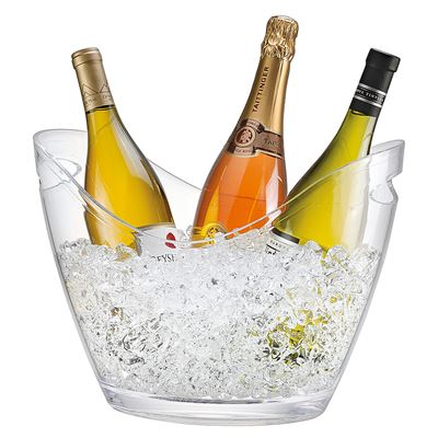 Vino Gondola Drinks Tub 6.8 Litre - Clear