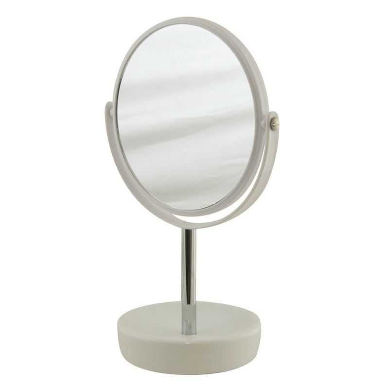 Suds Ceramic Double Sided Mirror White