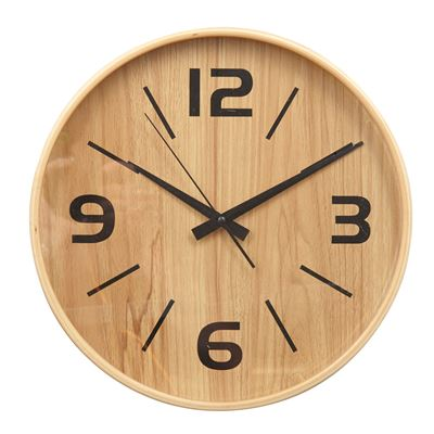 Frankie Wall Clock Natural 30Cm