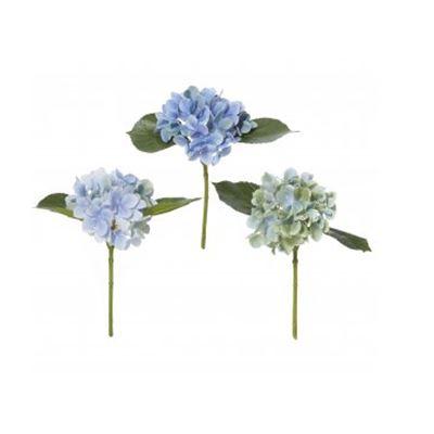 Hydrangea Pick Assorted Blue Mix