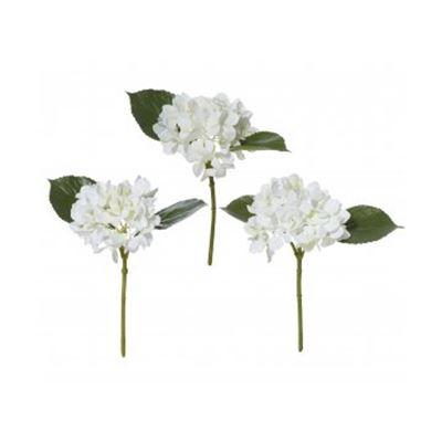 Hydrangea Pick Assorted White Mix