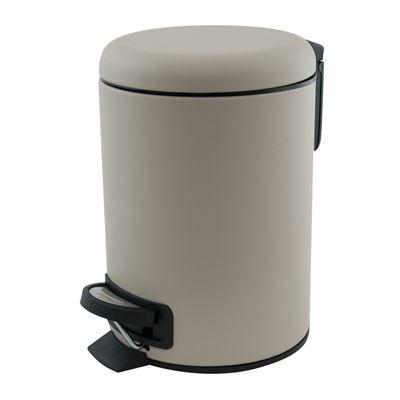 Suds Pedal Push Bin 3L Latte