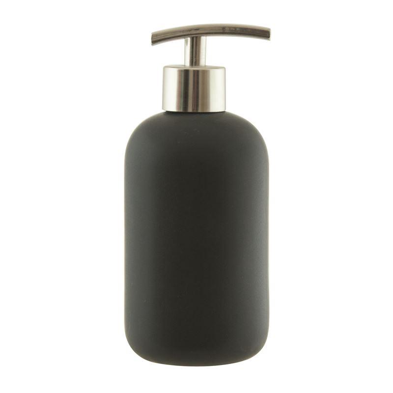 Suds Ceramic Soap Dispenser 425ml Black