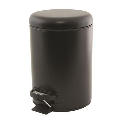 Suds Pedal Push Bin 3L Black