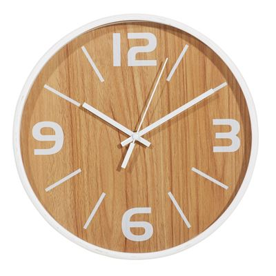 Frankie Wall Clock White 30Cm
