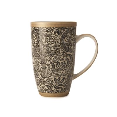 William Morris Seaweed Coupe Mug 420ml