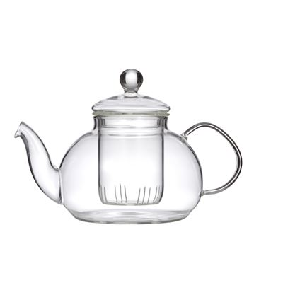 Chrysanthemum Teapot With Filter Clear