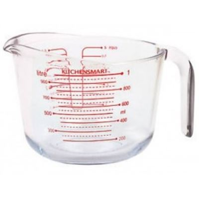 Borosilicate Glass Measuring Jug Clear 500ml