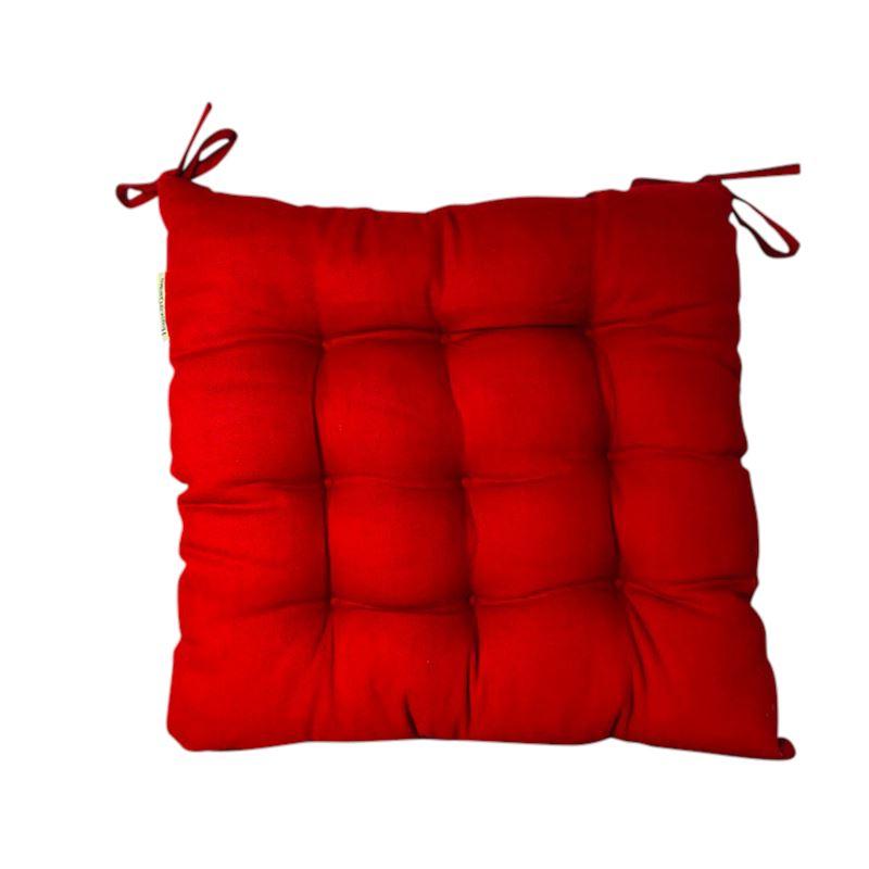 Canvas Chair Mat 45 x 45 CM Red