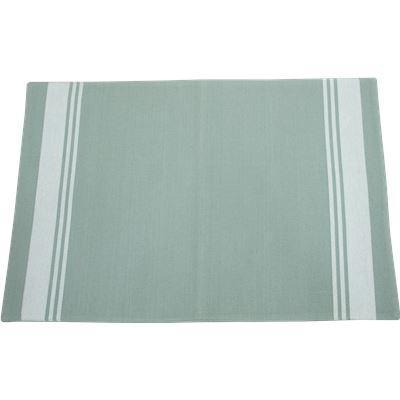 Stripe Single Placemat 33X48Cm Light Grey