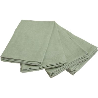 4 Pack Napkins 40x40cm Chateau Grey