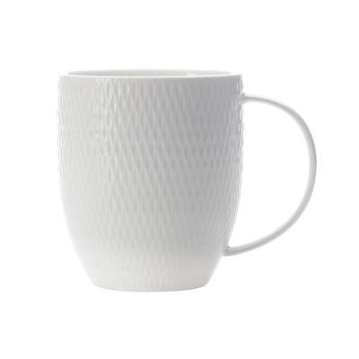 White Basics Diamon Coupe Mug 370Ml