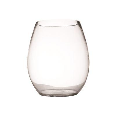 Diamante Barrel Vase 23Cm Gb