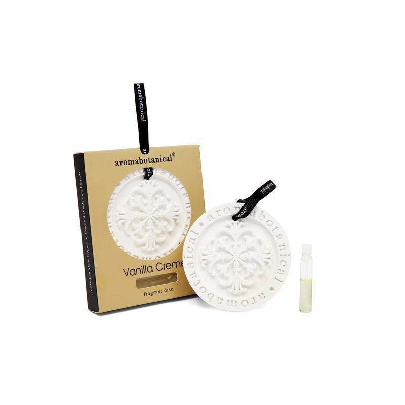 Fragrant Disc Vanilla Crme